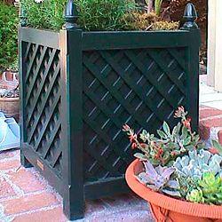 Lattice Planter Box