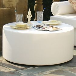 Modern Outdoor Ottoman and Table