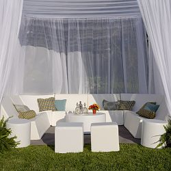 12' x 12' Romp Suite of Outdoor Furniture