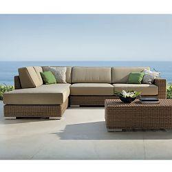 Golf Modular Wicker Sectional Sofa