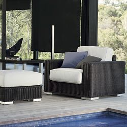 Golf Outdoor Wicker Lounge Chair