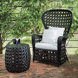 Emmanuel Wicker Outdoor Chair