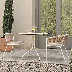 Side Chair/Armchair - Half Rope Side