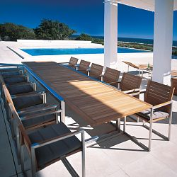 Ninix Teak Extension Table