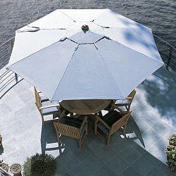 Teak Outdoor Patio Umbrella