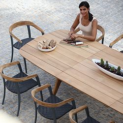 Zidiz Teak Extention Dining Table