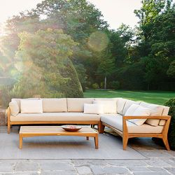 Zenhit Teak Sectional Sofa