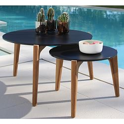 Tea Time Table with Teak Legs