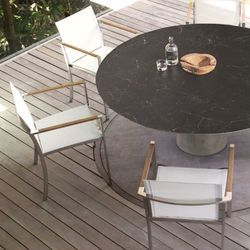 Conix Table and Ozone Dining Chair