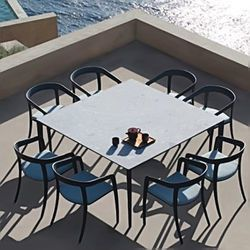 Jive Dining Chairs and Ceramic Top Table