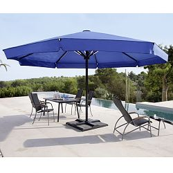 Big Ben Round Valance Outdoor Umbrella