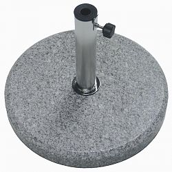Caravita Rome Polished Granite Umbrella Base