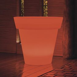 Gota Illuminated Outdoor Planter