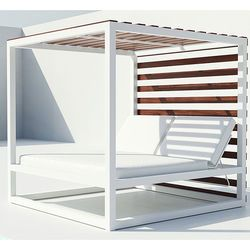 Bali Daybed with Faux Wood Slats