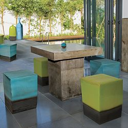 Perpetual Bistro Table is Sustainable and Biodegradable