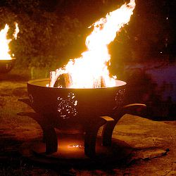 Africa's Big Five Fire Pit