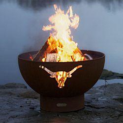 Long Horn Fire Pit