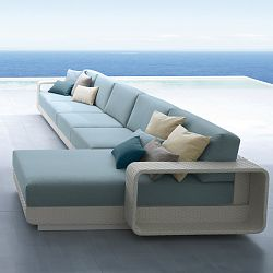 Roberti Hamptons Sectional Seating