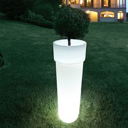 Marcantonio Indoor-Outdoor Lighted Planter