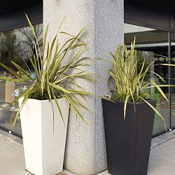Kabin Tall Indoor-Outdoor Planter by Designer Luisa Bocchietto