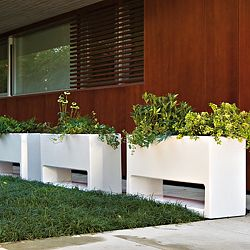 Lluna Indoor-Outdoor Planter by Designer Joan Gaspar