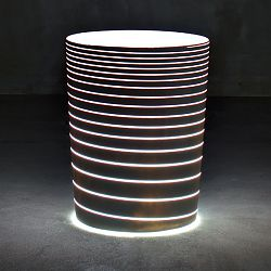 Illuminated Grand Jane Planter