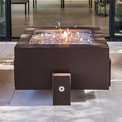 37'' Square Powder Coated Fire Pit