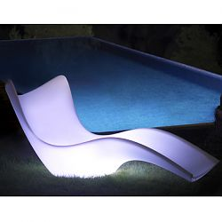 Illuminated Outdoor Surf Chaise