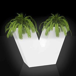 Illuminated Uve Outdoor Planter