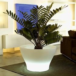 High Centre Illuminated Outdoor Planter