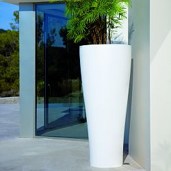 Curved Outdoor Planter