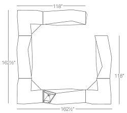 3 - Corners, 3 - Bar, 1 - Side