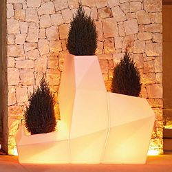 Faz Illuminated Planter
