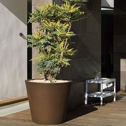 Tapered Cone Indoor-Outdoor Planter