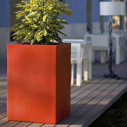 Tall Square Indoor-Outdoor Planter