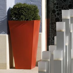 Square Cone Shaped Indoor-Outdoor Planter