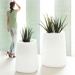 Ulm Tall Square Planters