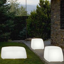 Lighted Outdoor Seating
