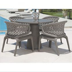 Journey Round Dining Table and Chair Set