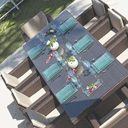 Pacific Rectangular Table Dining Collection