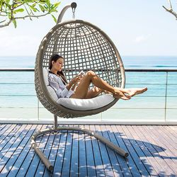 Dynasty Wicker Hanging Chair