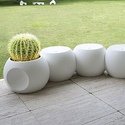 Use the Dimple as a Planter, Table or Stool