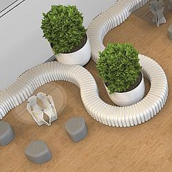 River Snake Modular Seating