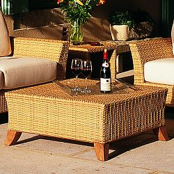 Rausch Outdoor Wicker Coffee Table
