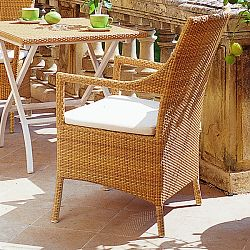 Rausch Wicker Cape Coral Patio Dining Chair