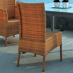 Rausch Outdoor Wicker Cocoa Beach Side Chair