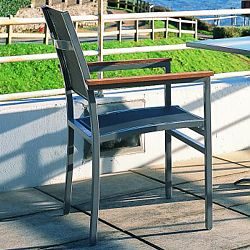 Long Beach Grey Arm Chair