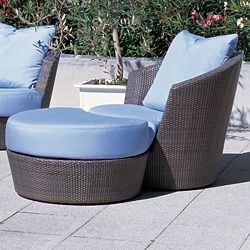 Rausch Wicker Eden Roc Lounge Chair