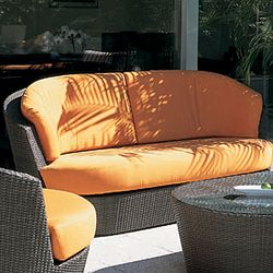 Rausch Outdoor Wicker Eden Roc Loveseat