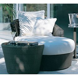 Divan with Side Table